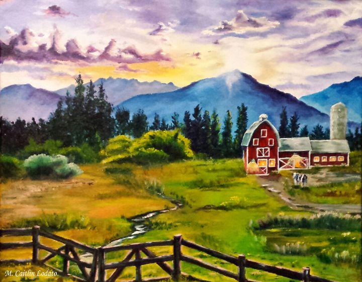 Vermont Farm - Hazy Moon Studios