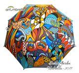 Original painted Umbrella by Mira
