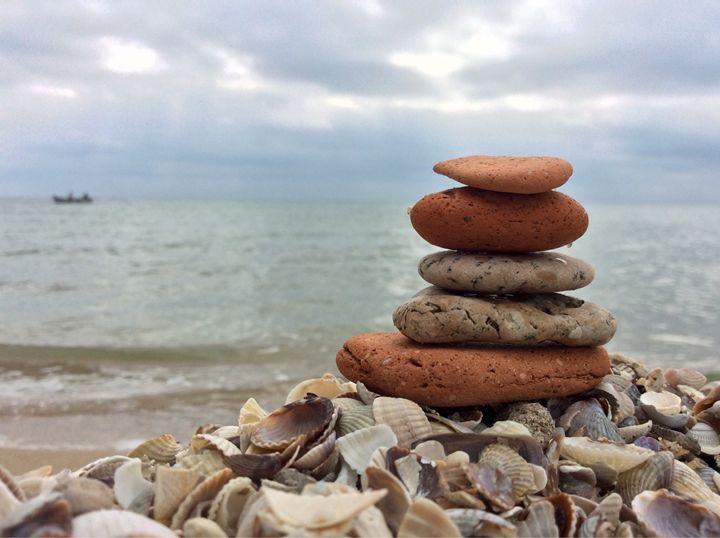 Balancing stones - Roman Kriuchkov