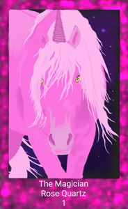 The Magician- Unicorn Crystal Series