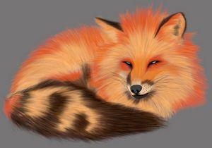 Realistic Fox