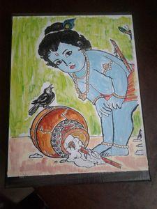 Bala Kannan Acrylic Painting