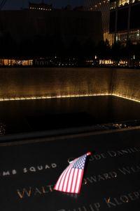 Twin Towers Memorial Flag