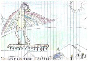 """Bird - John D Kelley """"Jugg King"""""""