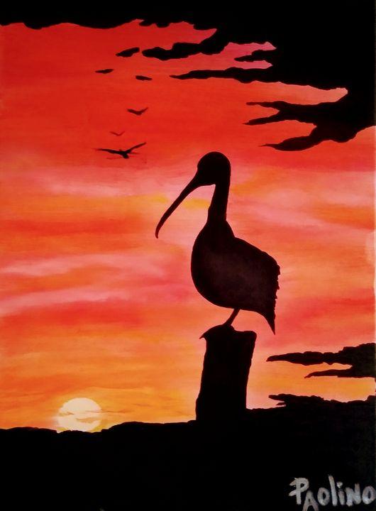 The Horizon (OIL PAINTING) - Paolino's Art Studio