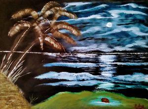 Paradise Under A Blue Moon