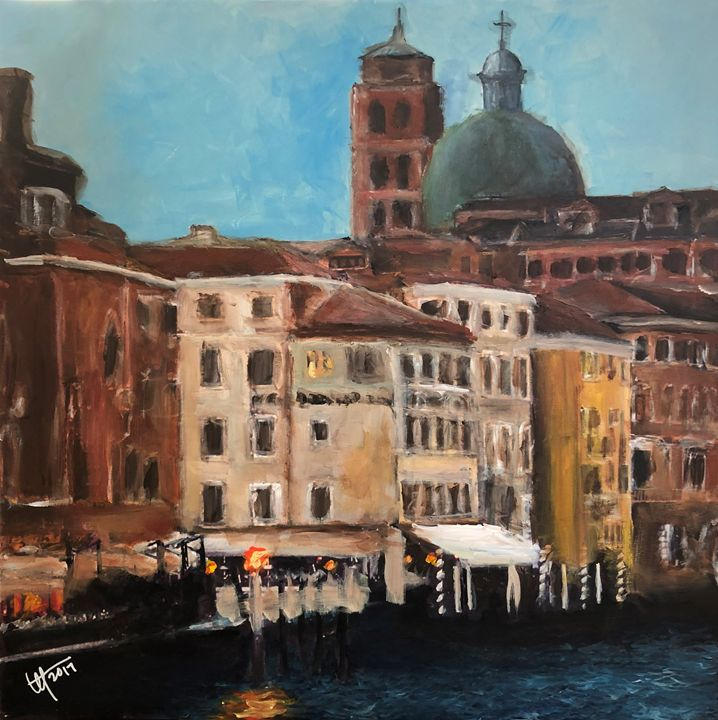 Hotel Continental in Venice - Terry Orletsky