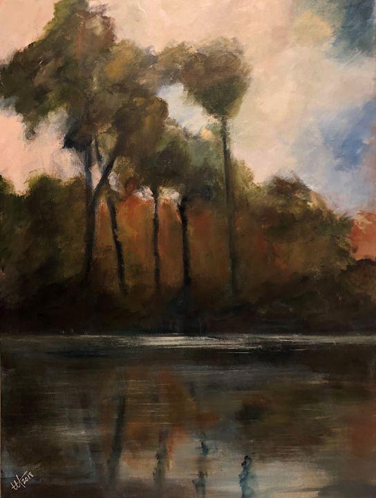 Summer Riverside - Terry Orletsky