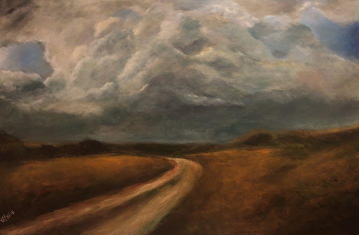 Thunder Road near Elk Point - Terry Orletsky