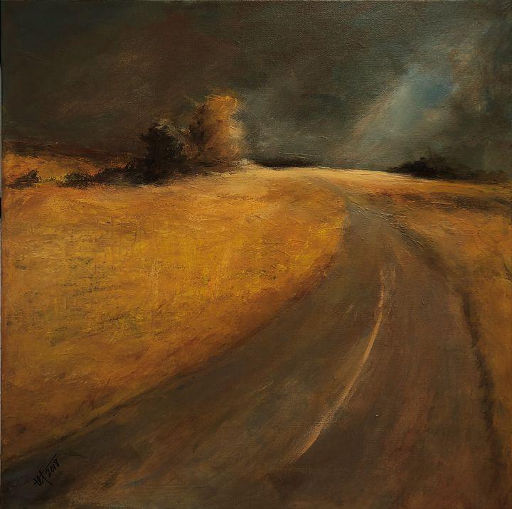 Number 2 Highway Alberta 1950s - Terry Orletsky