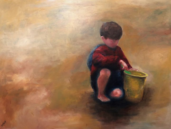 Andy's Yellow Bucket - Terry Orletsky