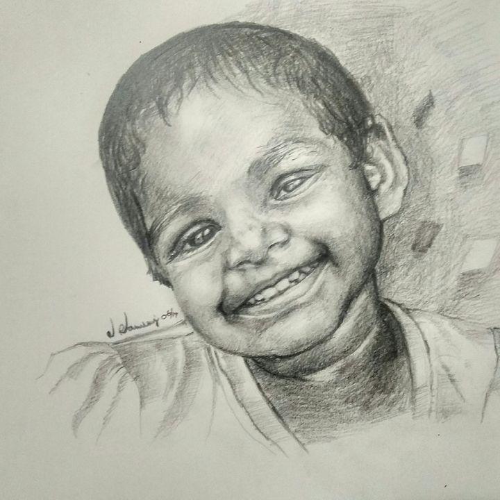 Laughing girl - Ramraj Ramasamy