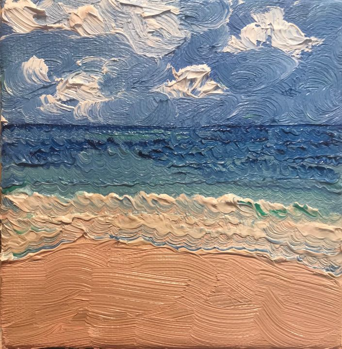 The beach - CSSANDRAW