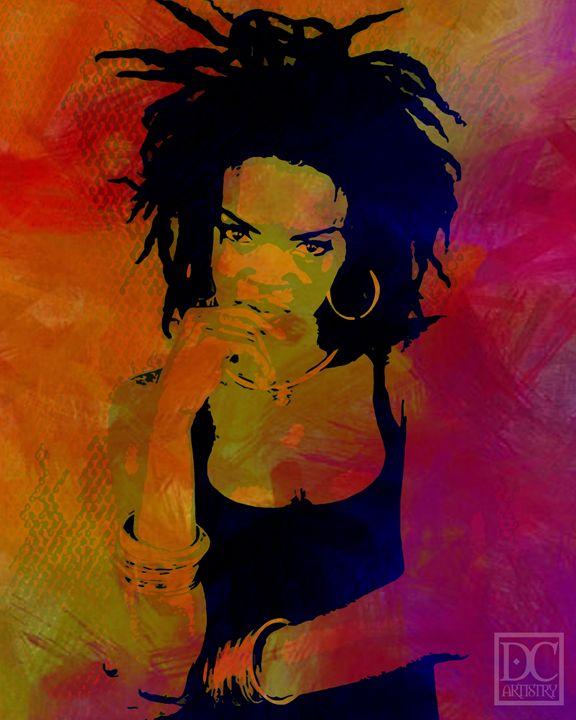 Lauryn Hill (8x10) - DC Artistry