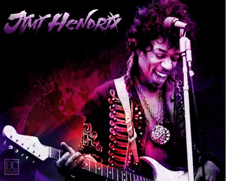 Jimi Hendrix (8x10) - DC Artistry