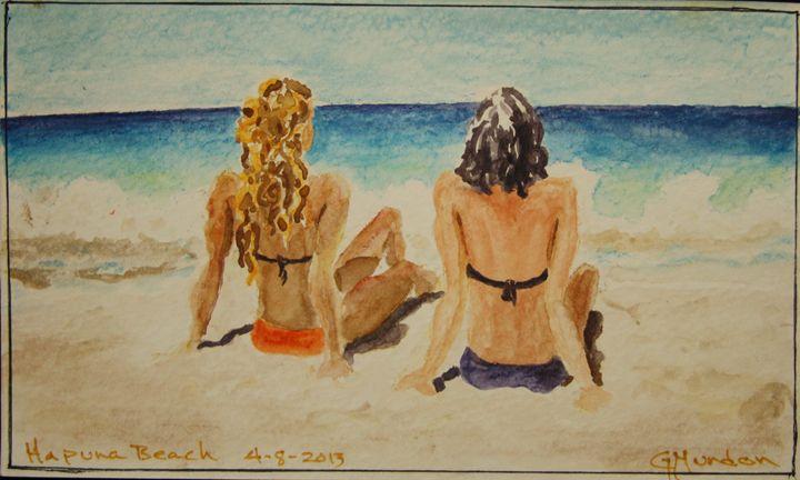 Hapuna Beach - Geoffrey Mundon