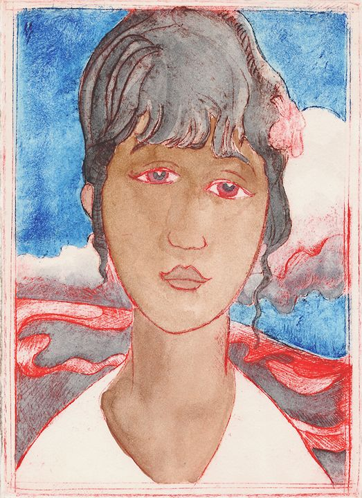 Lava Girl 1 - Geoffrey Mundon