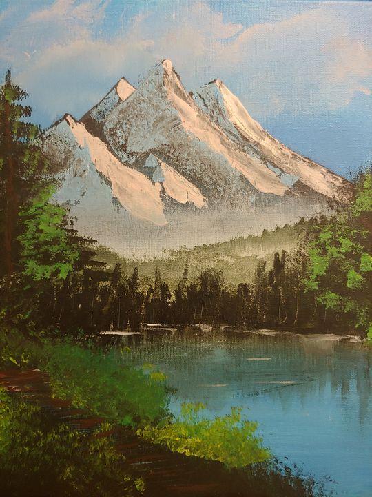 Distant Peaks - Bernard Canete