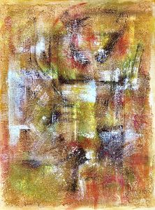 Gold Abstract - Margoarts