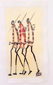 Masaai Warriors by Rose Kamoto
