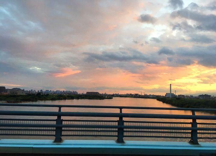 Cityscapes of Japan - Sunset Bridge - African Urban Art