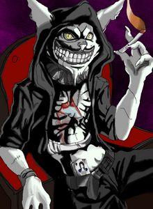 Anime Cheshire cat