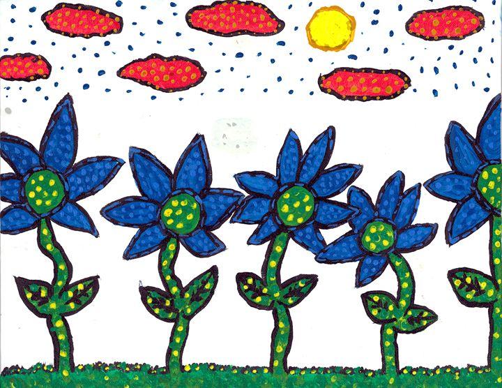 Spring Flowers - Tony Teague