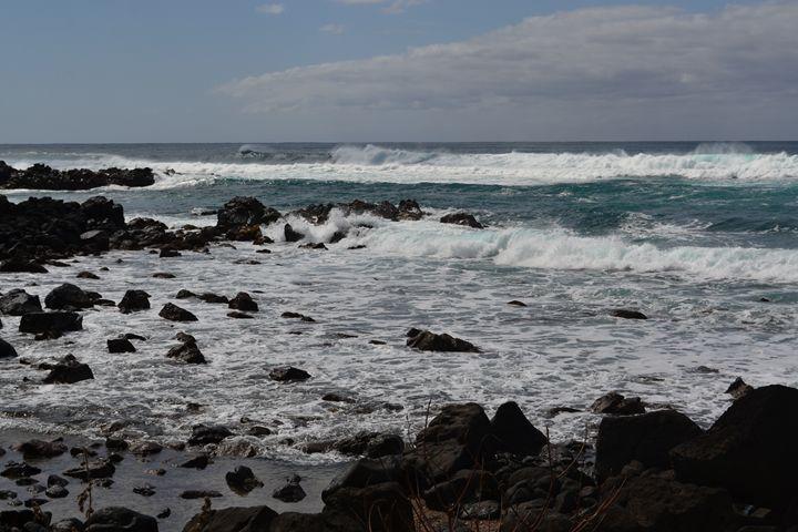 North Shore Rocks - Sammons Photography-Hawaiian Days