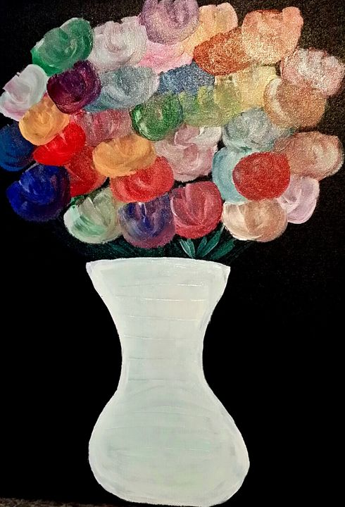 Blossoms by Annette Marshall - Annette's Art Creations