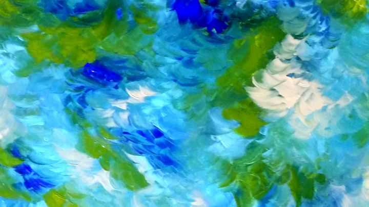Mint Leaves by Annette Marshall - Annette's Art Creations
