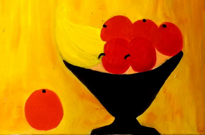 Fruit Bowl by Annette Marshall - Annette's Art Creations