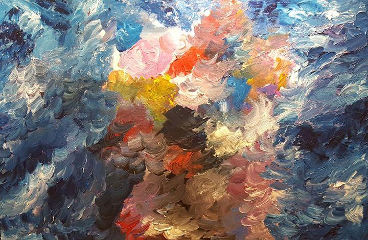 Blue Velvet - Annette's Art Creations