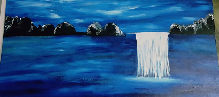 WaterFall - Annette's Art Creations