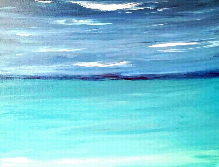 Deep Blue by Annette Marshall - Annette's Art Creations