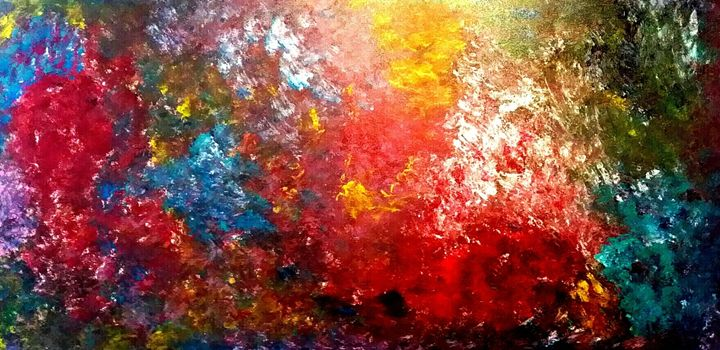 Galaxy by Annette Marshall - Annette's Art Creations