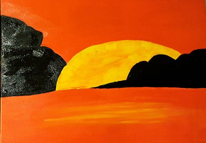 Sunset - Annette's Art Creations