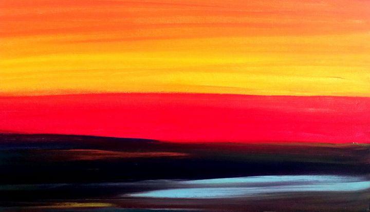 Sunkist  Rainbow by Annette Marshall - Annette's Art Creations