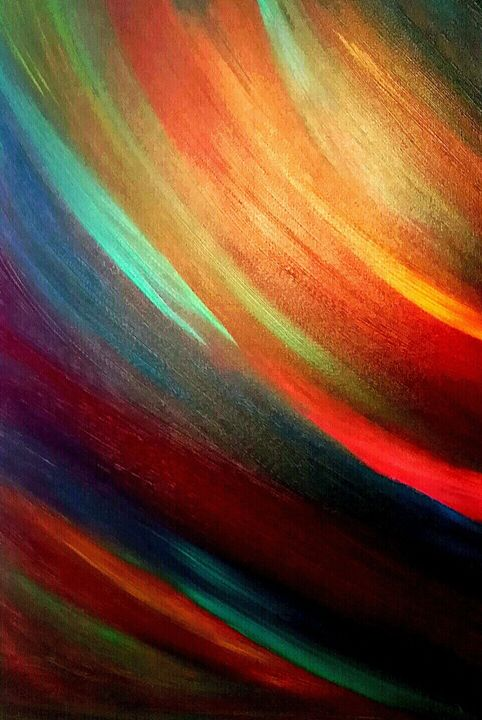 Rainbow by Annette Marshall - Annette's Art Creations