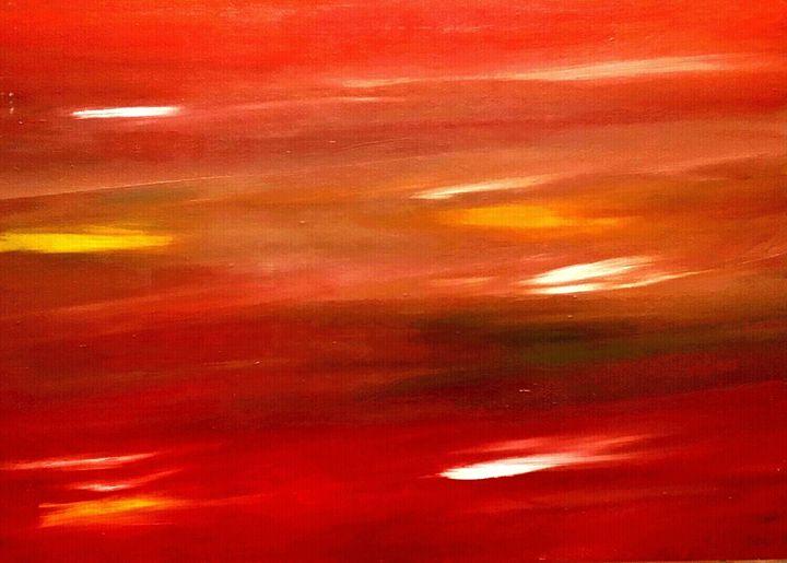 Sunset by Annette Marshall - Annette's Art Creations