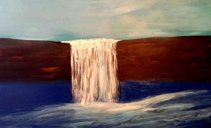 Waterfalls by Annette Marshall - Annette's Art Creations