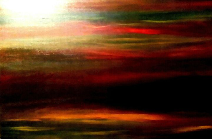 Tornado  Isle by Annette Marshall - Annette's Art Creations