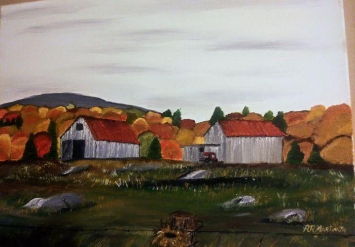 Autumn Mountain Views - Allen the Artisan
