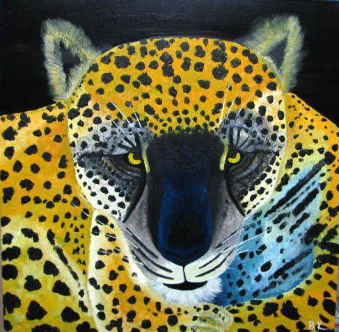 Jaguar Close Up - Art by Brad Kammeyer