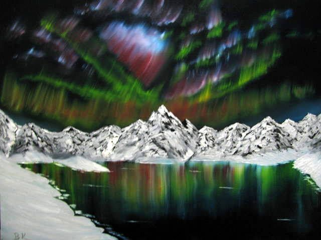 Northern Lights # 2 - Art by Brad Kammeyer