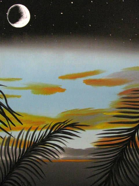 Moon light sunset - Art by Brad Kammeyer