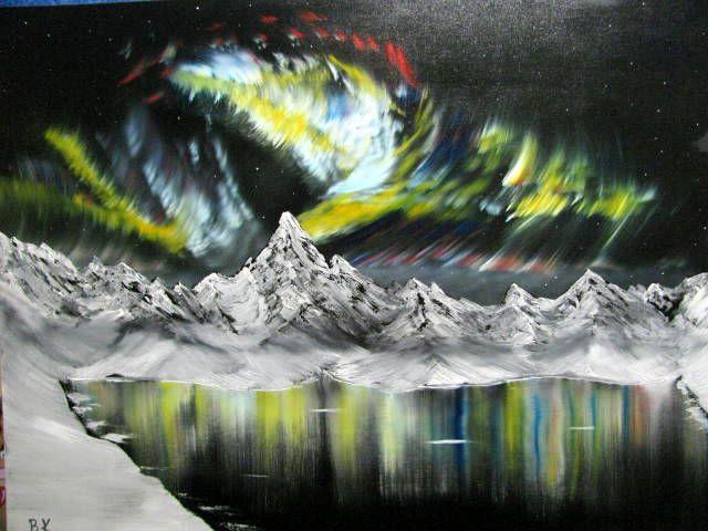Northern Lights in Alaska - Art by Brad Kammeyer