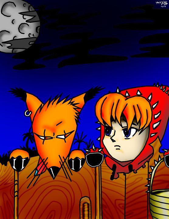 Bad bad fox - JJFL Art's