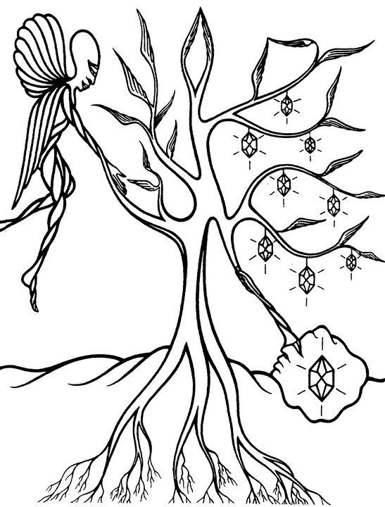 Alchemical Tree - Cosmic Art Center Gallery
