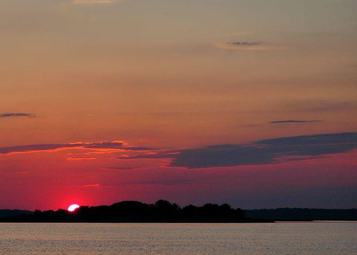 Bay Sunset - PhillySnaps