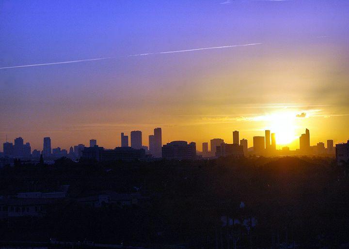 Miami Sunset - PhillySnaps